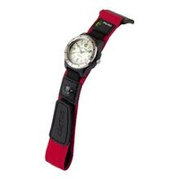 Navigator Kids Watch with Compass RED Velcro Band 100M Water Resistant