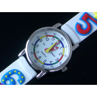Funky Numbers Kids Watch Time Teaching Dial