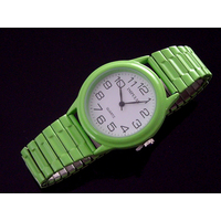 Coloured Ladies Watches MEDIUM Stretch Expander Band 8 Colours