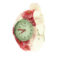 Printed Band Fashion Watch for Teens and Ladies 3 Designs