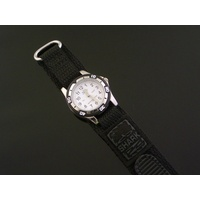 New KIDS WATCH To and Past Teaching Dial Water Resistant 50m BLACK BAND