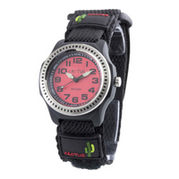 Rugged Ranger Kids Watch Velcro Band Red Dial Water Resistant 100m