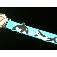 Killer Whales Kids Watch with Time Teaching Dial