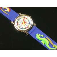 Seahorses Kids Watch with Time Teaching Dial