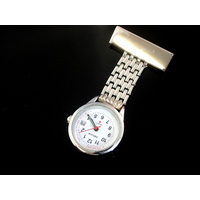 Nurses Watch MESH SILVER with Date