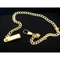 Pocket Watch Chain - Gold Classic
