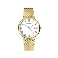 Ladies Gold Watch with Roman Numerals