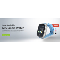 Pink 3G GPS SMART WATCH for KIDS use a Telstra or Vodaphone SIM​