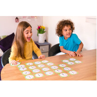 Playing Cards - Learn to Tell Time Level 1 for Ages 5-7