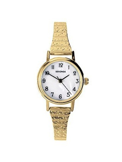 Watch Mom In Bedroom Camera: Ladies Watch Gold Stretch Band Watches By Sekonda Mother