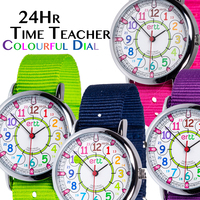 Kids Watch 24hr Colourful Teaching Dial