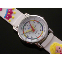Modern Princess Girls Watch with Time Teaching Dial