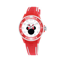 Disney Minnie Mouse Comfortable Soft Rubber Band Watch ages 8+