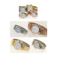 Ladies Watch SMALL Stretch Band Expander Watch Gold Silver Rose Gold