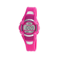 Hot Pink Digital Watch With Lens Guard