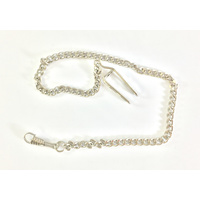 Pocket Watch Chain - Silver Standard