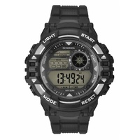 Mens Digital Watch Water Resistant 50m